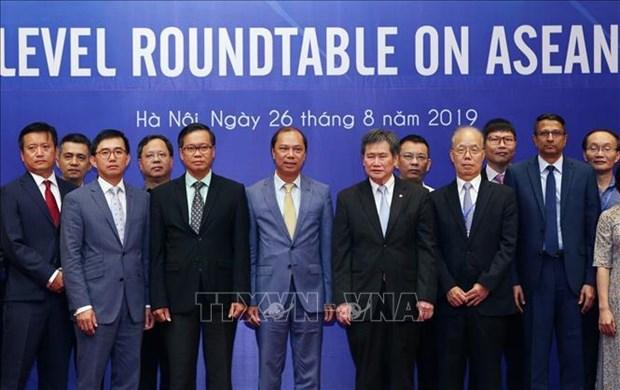 2020年东盟年高层座谈会:加强东盟秘书处与2020年东盟轮值主席国的协调配合 hinh anh 1