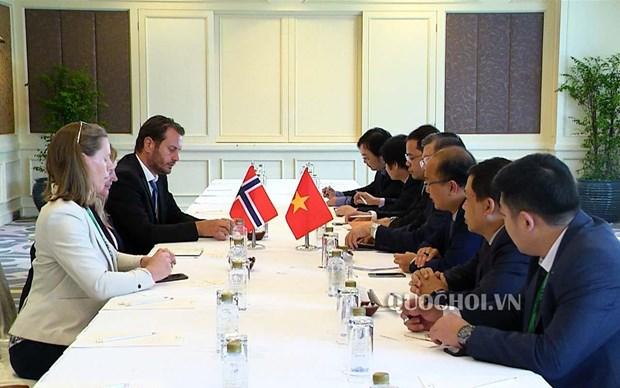AIPA 40:挪威支持越南关于各国家需尊重各国海上主权的观点 hinh anh 1