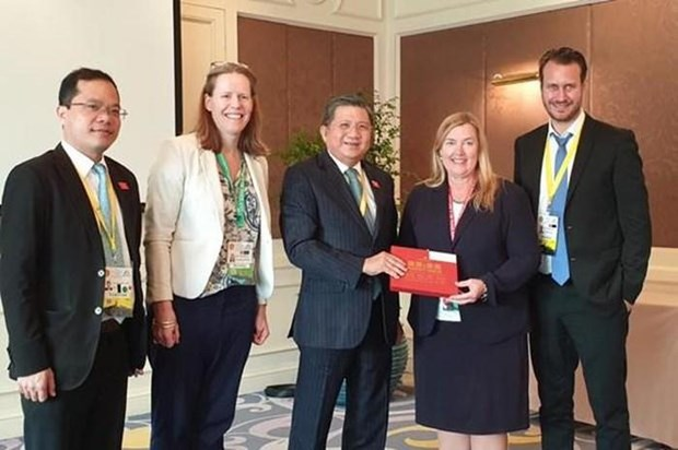 AIPA 40:挪威支持越南关于各国家需尊重各国海上主权的观点 hinh anh 2