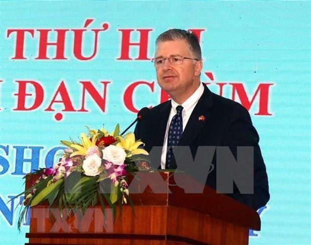 """""""集束炸弹探测方法""""国际研讨会在广治省举行 hinh anh 2"""