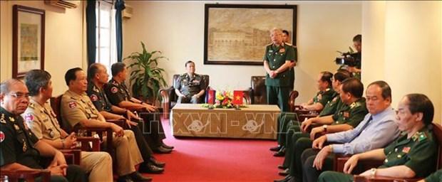越南与柬埔寨提高边界管理与保护工作效率 hinh anh 2