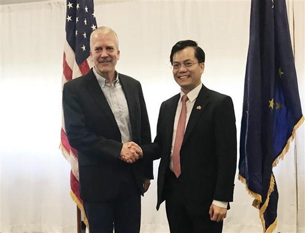 进一步加强越南与美国阿拉斯加州之间的合作 hinh anh 1