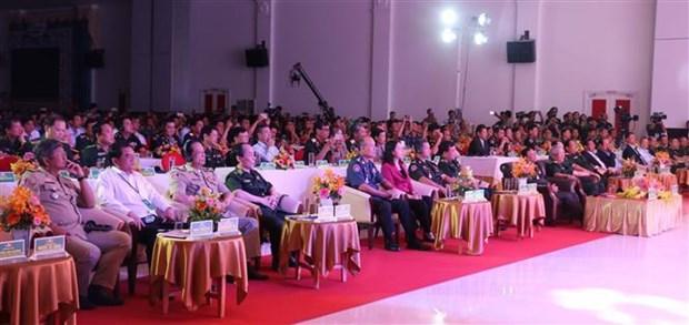 2019年越柬边境友好交流座谈会在安江省举行 hinh anh 2