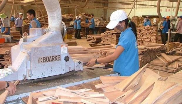 越南林产品8月出口增长16% hinh anh 1