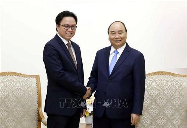 阮春福总理会见柬埔寨驻越大使波拉克 hinh anh 1