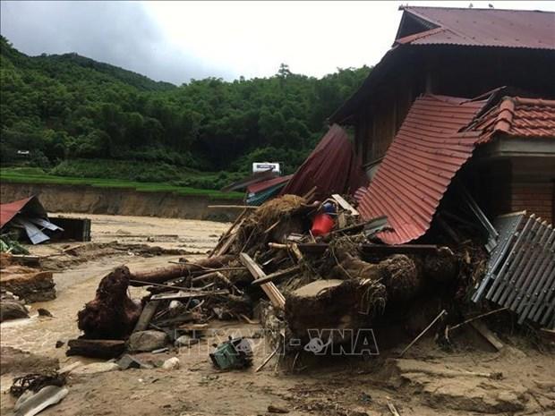 欧洲联盟向越南洪水灾民提供10万欧元救助 hinh anh 1