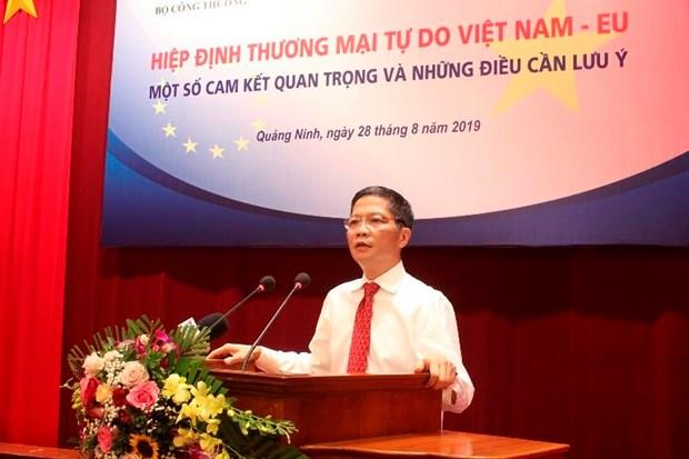 EVFTA宣传推广工作会议在广宁省举行 hinh anh 2