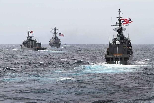 缅甸参加东盟-美国国际海事演习 hinh anh 1