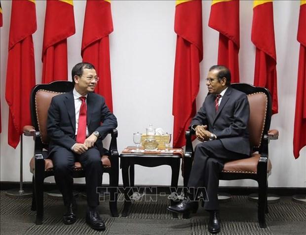 加强越南与东帝汶的友好合作关系 hinh anh 1