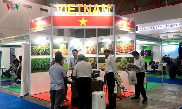 越南许多农业科技产品亮相2019年印度尼西亚国际农业机械展览会 hinh anh 1