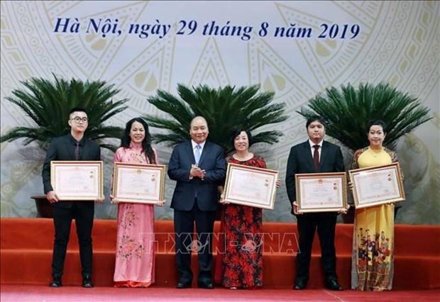 阮春福总理:使文化成为经济发展的基础和国家的内在力量 hinh anh 1