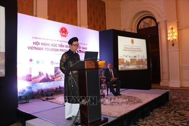进一步推动越南与印度旅游领域的合作 hinh anh 1