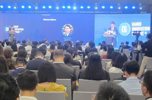 2019年河内创新创业论坛:激发创新创业精神促进企业互联互通 hinh anh 2