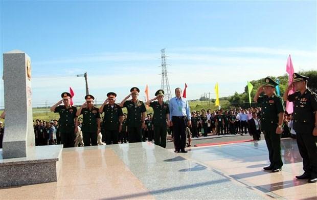 越柬边境友好文化馆在安江省落成 hinh anh 1
