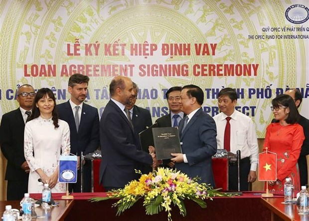 OFID向越南提供4500万美元贷款改善岘港市交通基础设施 hinh anh 1