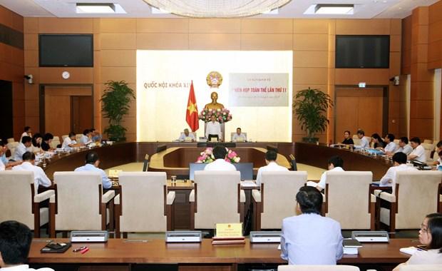 越南国会经济委员会第11次全体会议今日开幕 hinh anh 1