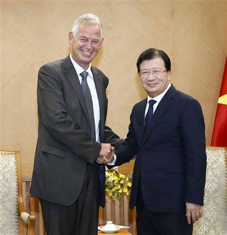 越南鼓励德国企业合作发展可再生能源 hinh anh 2