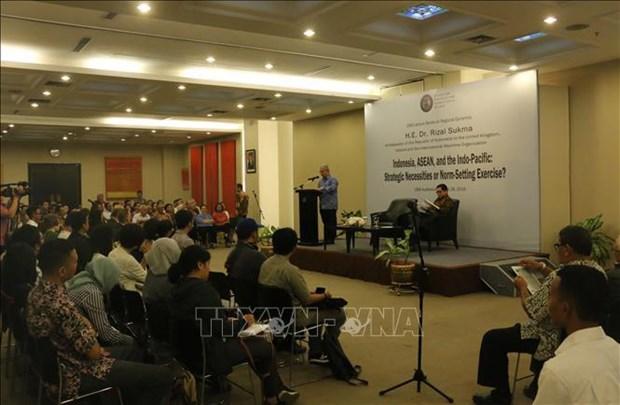 《东盟关于印度洋-太平洋合作的展望》强调东盟的核心作用 hinh anh 1