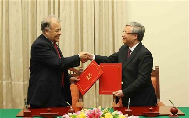 墨西哥劳动党代表团访问越南 hinh anh 2