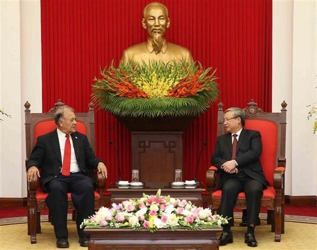 墨西哥劳动党代表团访问越南 hinh anh 1