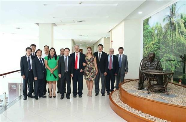 墨西哥劳动党代表团访问越南 hinh anh 4