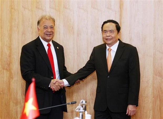 墨西哥劳动党代表团访问越南 hinh anh 3