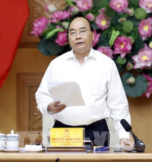 政府总理阮春福主持召开国家财政预算工作会议 hinh anh 1