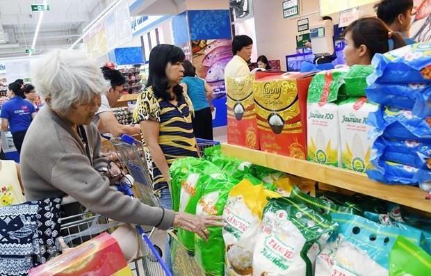 8月份胡志明市居民消费价格指数环比上涨0.24% hinh anh 1