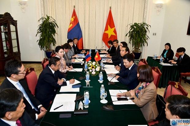 第八次越南-蒙古外交部副部长级政治磋商会议在河内召开 hinh anh 2