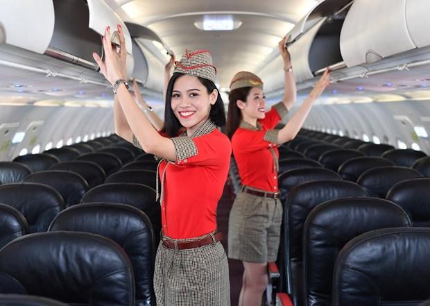 越捷航空将在日本举行8月份最具规模的空中乘务员招聘会 hinh anh 2