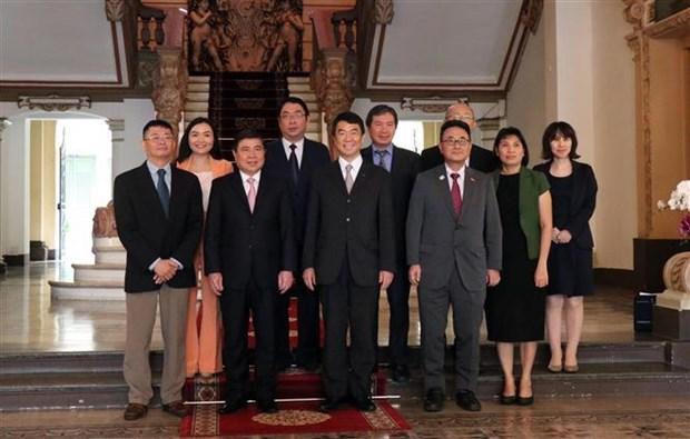越南胡志明市与日本宫城县加强教育、旅游合作 hinh anh 3