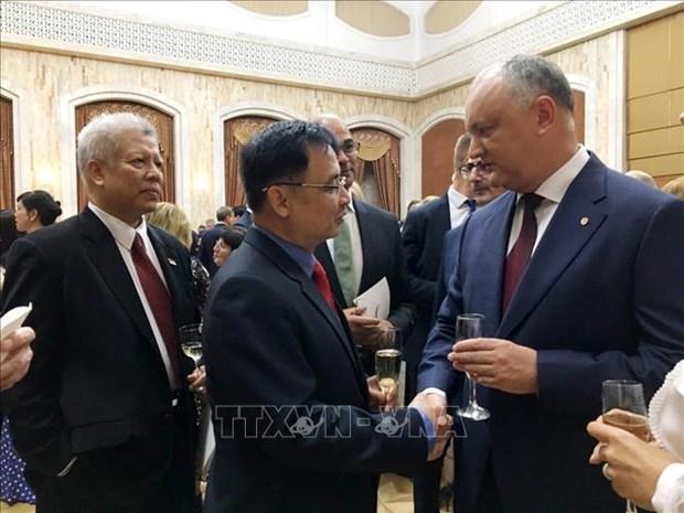 摩尔多瓦一向重视与越南的关系 hinh anh 1