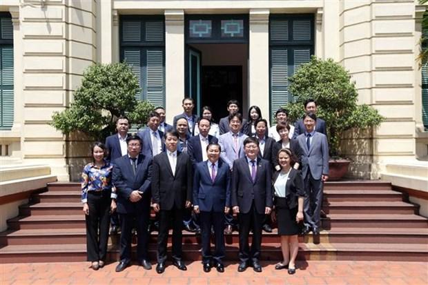 越南与韩国在劳动与就业领域展开全面合作 hinh anh 2