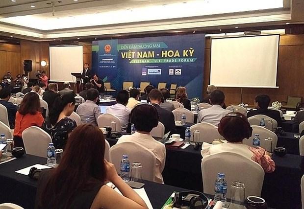2019年越美两国贸易论坛即将在胡志明市举行 hinh anh 1