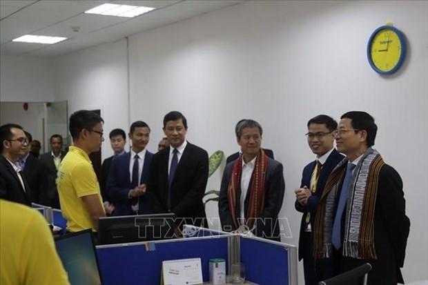 越南政府总理特派员圆满结束对东帝汶进行的访问 hinh anh 1