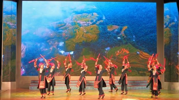 以色列与越南民间音乐交流晚会举行给观众留下美好印象 hinh anh 1
