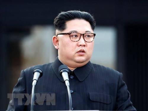 朝鲜领导人希望巩固与越南的关系 hinh anh 1