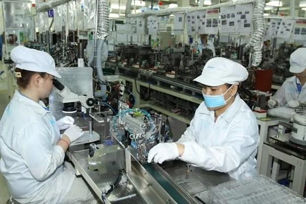 今年前8月胡志明市工业生产指数同比增长7.1% hinh anh 1