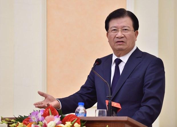 越南政府副总理郑廷勇率团出席2019年东方经济论坛 hinh anh 1