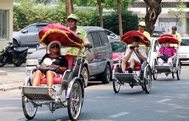 国庆节放假期间岘港市接待游客量大幅增长 hinh anh 1