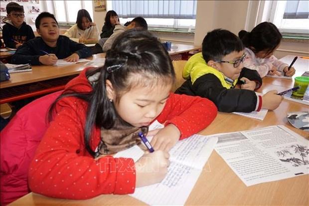 掀起捷克越南人学习越南语热潮 hinh anh 1