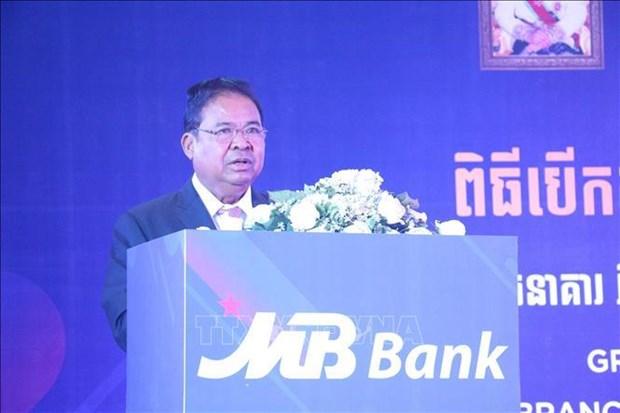 柬埔寨国家银行行长高度评价越南企业的贡献 hinh anh 1