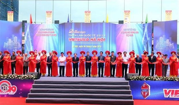 2019第二届越南河内国际建材展吸引450家企业参展 hinh anh 1