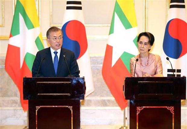 缅甸与韩国深化合作 hinh anh 2