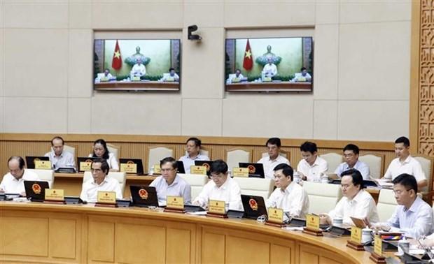 越南政府总理阮春福召开政府8月份例行会议 hinh anh 3