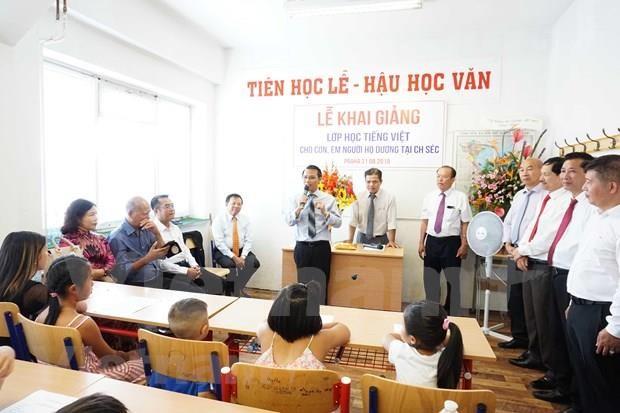 掀起捷克越南人学习越南语热潮 hinh anh 2