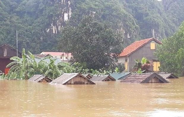 阮春福总理:主动做好暴雨洪水应对和灾后恢复重建工作 hinh anh 1