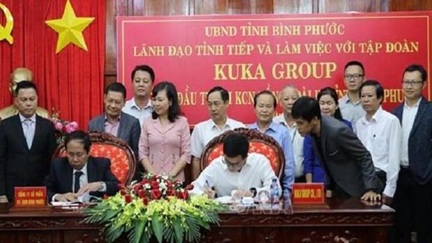 中国顾家家居集团对平福省投入5000万美元 hinh anh 1
