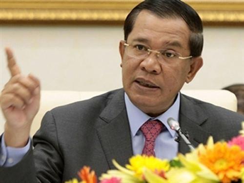 柬埔寨首相洪森签发预防和应对湄公河水灾措施的通告 hinh anh 1