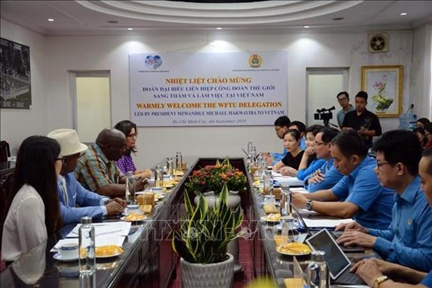 越南工会是世界工会联合会的积极成员 hinh anh 1